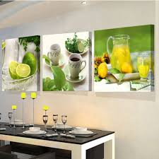 Kitchen Art Wall Decor Paintings For The Kitchen Fruit Wall Decor Modern Canvas Art Wall