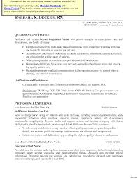 Template Graduate Nurse Resume Samples With Images Rn Cover Letter