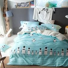 blue striped duvet cover light blue stripes duvet cover set queen king size penguin quilt pillow blue striped duvet cover
