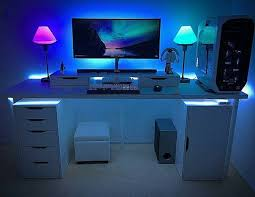 catchy gaming computer desk setup best ideas about gaming desk on pc setup gaming