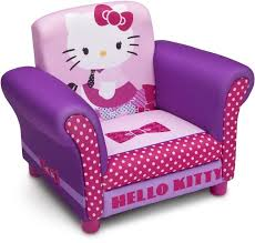 hello kitty kids furniture. girls hello kitty upholstered chair pink purple kids furniture gaming reading unbranded a