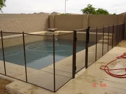 Decorative Pool Fence Removable Pool Safety Fence Phoenix Dcs Pool Barriers