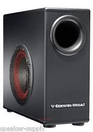 speaker parts and components new cerwin vega 15 500w cerwin vega xd8s 8 powered subwoofer for computer desktop remote cont speaker supply