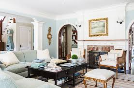 Neutral furniture Cream Clock Standing In The Entrance Introduces The Blue Palette Right Off The Bat One Kings Lane Tips For Decorating With Neutrals