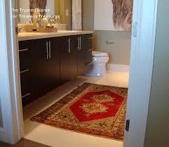 oriental bathroom rug