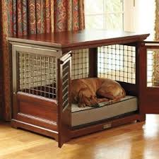 dog crates furniture style. furniture dog crate could probably make this out of crates style