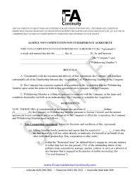 non compete non disclosure agreement k k club 2017