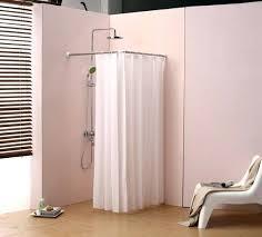shower curtain rod ideas. Contemporary Curtain Corner Shower Curtain Rod Hanging Ideas To Install  Lowes On E