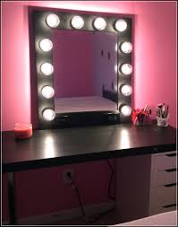 Best lighting for makeup mirror Ikea Makeup Mirror With Lights The Best Lighting You Can Use Pinterest Makeup Mirror With Lights The Best Lighting You Can Use Vanity Mirror