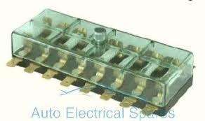 190775 continental fuse box 8 way lucar terminals 6v 12v 190775 continental fuse box 8 way lucar terminals 6v 12v