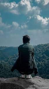 Man Lonely Meghalaya Hills 4K Ultra HD ...