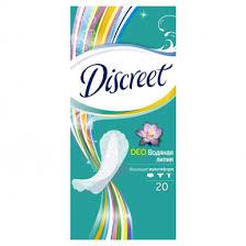 Купить <b>ALLDAYS прокладки Discreet</b> 20шт <b>Део</b> Водная лилия ...