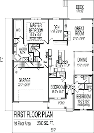 3 bedroom house plans with basement sf brick ranch floor plans with basement 1 level 3