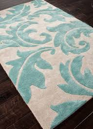 turquoise area rug 5 8 aloha baroque leaf home rugs ideas with regard to 5x8 remodel 0