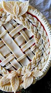 Lattice Braid And Leaves Pie Crust Bake Me Pie Crust Recipes
