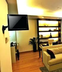 mounting tv in corner of room tilt and swivel arm corner wall mount holder 813