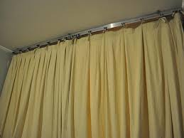 ceiling mounted curtain track system home depot pranksenders ceiling curtain track system