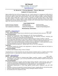 Download Manager Resumes Staffing Manager Resumes Under Fontanacountryinn Com