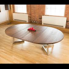 <b>Massive</b> 180-280cm extending luxury round/oval <b>dining table</b> oak ...