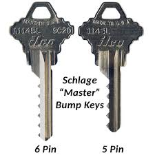 Schlage Bump Keys