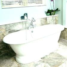 bathtub kohler free standing tub 60 freestanding jetted cast iron tubs bathtubs at cleaner whirlpool faucets