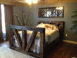 Solid Timber Bedroom Furniture Beautiful Timber Frame Bed Hand Crafted Using Tenon And Mortise