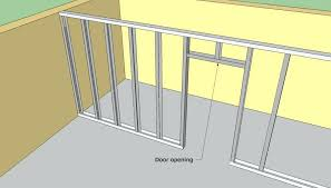 metal framing details. Metal Stud Wall Framing Layout Calculator First Class  Construction Details