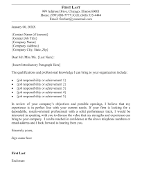 Cover Letter Outline 22 Professional Sample Uxhandy Com