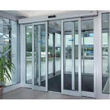aluminium automatic sliding glass door