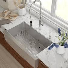 Kitchen Ikea Farmhouse Sink  Stainless Steel Kitchen Sink  Top Farmhouse Stainless Steel Kitchen Sink