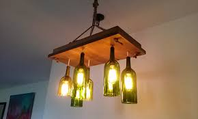 image of best bottle chandelier design