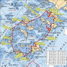 Broken Islands Group B C Rockfish Conservation Area