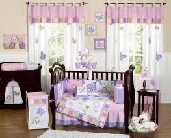 Lavender And Black Bedroom Lavender Nursery Curtains