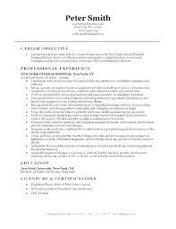 Sample Icu Nurse Resume Nurse Resume Nurse Job Description Resume
