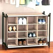 built in shoe closet shelves for shoes rack at target room essentials walk storage close