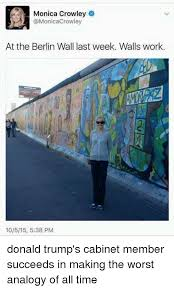 dank the worst and ogy monica crowley monicacrowley at the berlin wall