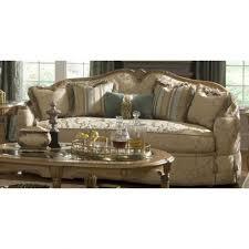 furniture cool aristocrat wood trim camel back sofa design with rh kropyok com