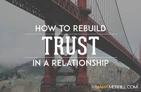 How To Rebuild Trust In A Relationship Mark Merrill's Blog Simple Trust In Relationships