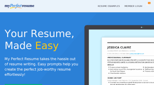 Is My Perfect Resume Free Fascinating Resumesandcoverletters Resume Builder Free Resume B