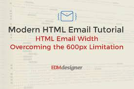 html email width overcoming the 600px