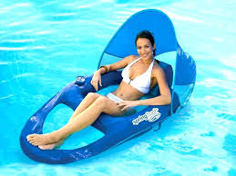pool floating lounge chair dimensions