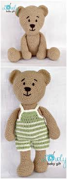 Basic Teddy Bear Crochet Pattern