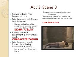 romeo and juliet act notes ppt video online  act 3 scene 3 romeo hides in friar laurence s room