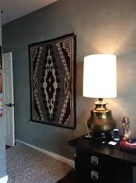 how to hang a rug on the wall without nails
