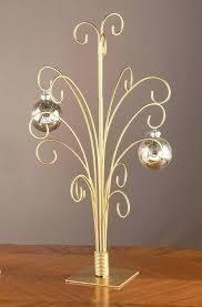 Metal Ornament Tree Display Stand Uk Delectable Christmas Ornaments Display Tree Silver Metal Scroll Ornament