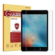 omoton tempered glass 9h hardness screen protector for ipad mini 4 crystal clear amazoncom tempered glass