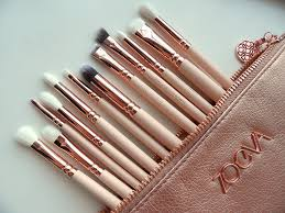 zoeva full set 12 brushes makeup cosmetics brush tool rose golden plete eye set vol 2 professional organizer travel real techniques eye bag