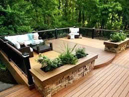 backyard wood deck ideas domainsmarketclub