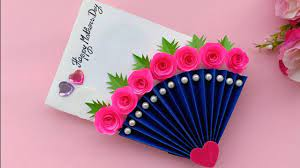DIY Mother's Day card / Mother's Day card making / handmade card for Mom -  YouTube