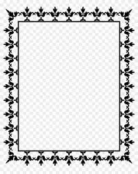 Big Image Free Page Borders For Microsoft Word Free Transparent